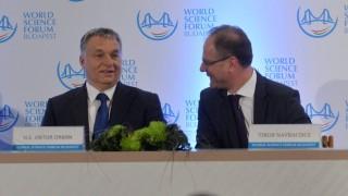 Tudomány világfóruma - Orbán Viktor a megnyitón