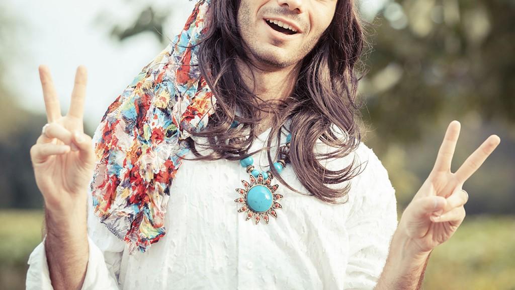 Hippie Portrait
