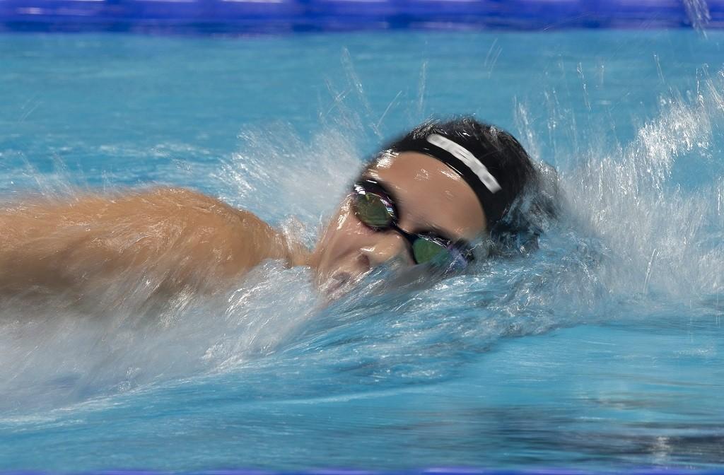 Kazany, 2015. augusztus 8. A késõbbi hatodik helyezett Kapás Boglárka a 800 méteres gyorsúszás döntõjében a kazanyi vizes világbajnokságon 2015. augusztus 8-án. MTI Fotó: Kovács Anikó