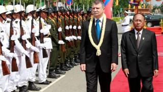 Kövér László Kambodzsában