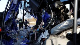 Több kamion ütközött a M0-s autóúton