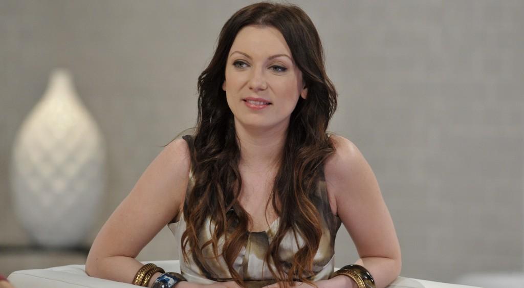 Budapest, 2013. április 23. Rúzsa Magdi énekes az M1 televíziós csatorna Ridikül címû nõi beszélgetõs mûsorában, az MTVA gyártóbázisának 7-es stúdiójában.  MTVA Fotó: Zih Zsolt