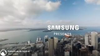 a samsung 360 fokos videója
