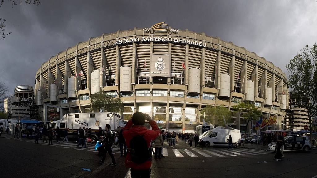 Real Madrid, Estadio Santiago Bernabeu Stadium, Madrid, June 6, 2013.  (Photo by Francis Tsang/Cover/Getty Images)
