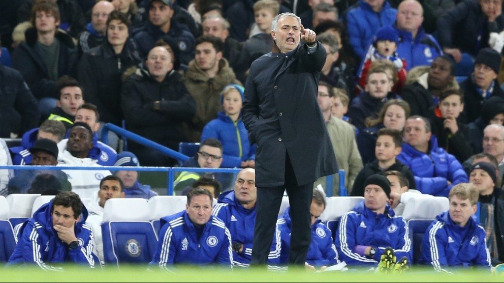 (FILES) A picture taken on December 5, 2015 shows Chelsea's Portuguese manager Jose Mourinho gesturing during the English Premier League football match between Chelsea and Bournemouth at Stamford Bridge in London. Chelsea manager Jose Mourinho has been sacked after a disastrous start to the Premier League season on December 17, 2015.AFP PHOTO / JUSTIN TALLIS  RESTRICTED TO EDITORIAL USE. No use with unauthorized audio, video, data, fixture lists, club/league logos or 'live' services. Online in-match use limited to 75 images, no video emulation. No use in betting, games or single club/league/player publications. / AFP / JUSTIN TALLIS
