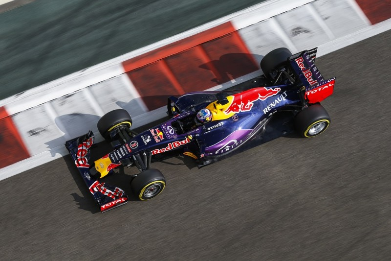 RICCIARDO daniel (aus) red bull renault rb11 action during the 2015 Formula One World Championship, Abu Dhabi Grand Prix from November 27th to 29th 2015 in Yas Marina. Photo Florent Gooden / DPPI