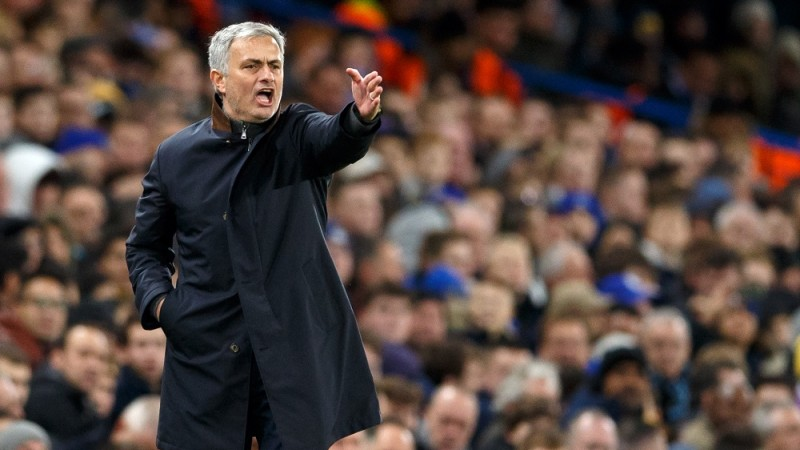 Chelsea Manager Jose Mourinho during the UEFA Champions League match between Chelsea and FC Porto played at Stamford Bridge Stadium, London - Photo Ben Queenborough / BPI / DPPI