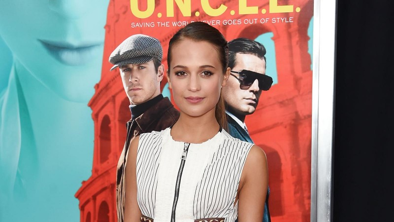 """attends the New York premiere of """"The Man From U.N.C.L.E.""""  at Ziegfeld Theater on August 10, 2015 in New York City."""