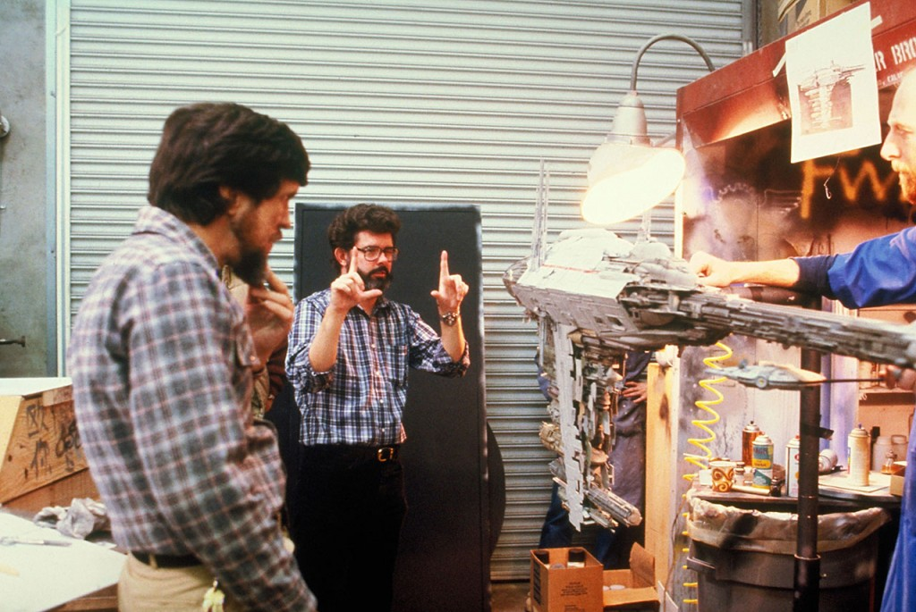 Star Wars: Episode V, The Empire Strikes Back Year : 1980 USADirector : Irvin KershnerGeorge Lucas, Richard Edlund, Steve GawleyShooting picture.It is forbidden to reproduce the photograph out of context of the promotion of the film. It must be credited to the Film Company and/or the photographer assigned by or authorized by/allowed on the set by the Film Company. Restricted to Editorial Use. Photo12 does not grant publicity rights of the persons represented.
