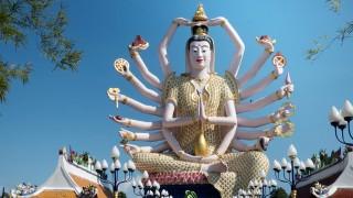 Statue of Guanyin 2015 Thailand Ko Samui,