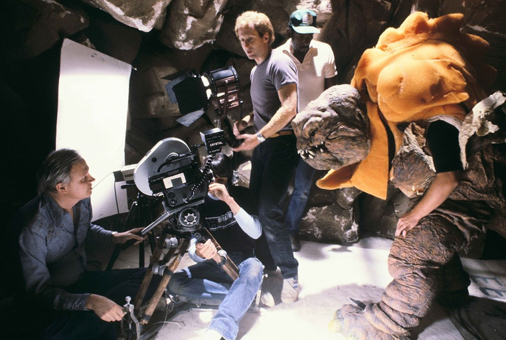 Star Wars, Le Retour du JediStar Wars: Episode VI, Return of the Jedi Year : 1983  USADirector : Richard MarquandDennis MurrenShooting picture.It is forbidden to reproduce the photograph out of context of the promotion of the film. It must be credited to the Film Company and/or the photographer assigned by or authorized by/allowed on the set by the Film Company. Restricted to Editorial Use. Photo12 does not grant publicity rights of the persons represented.