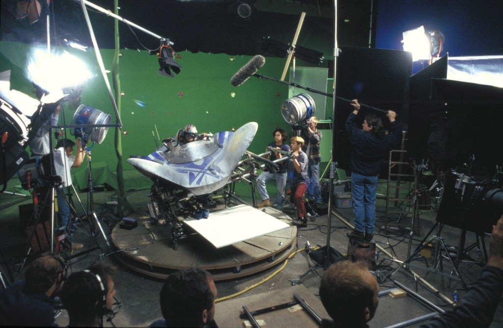 Star Wars : Episode I - The Phantom MenaceYear : 1999 USADirector : George LucasJake LloydShooting picture.It is forbidden to reproduce the photograph out of context of the promotion of the film. It must be credited to the Film Company and/or the photographer assigned by or authorized by/allowed on the set by the Film Company. Restricted to Editorial Use. Photo12 does not grant publicity rights of the persons represented.