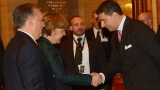 Merkel Budapesten - Orbán Viktor fogadta a német kancellárt