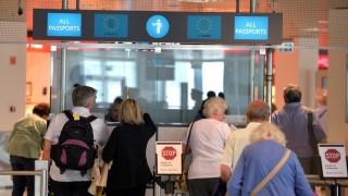 Sajtótájékoztató az automatizált határellenőrzésről a Liszt Ferenc-repülőtéren