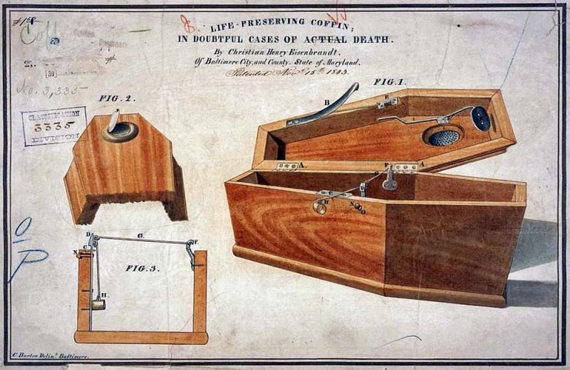 C. H. Eseinbrandt coffin