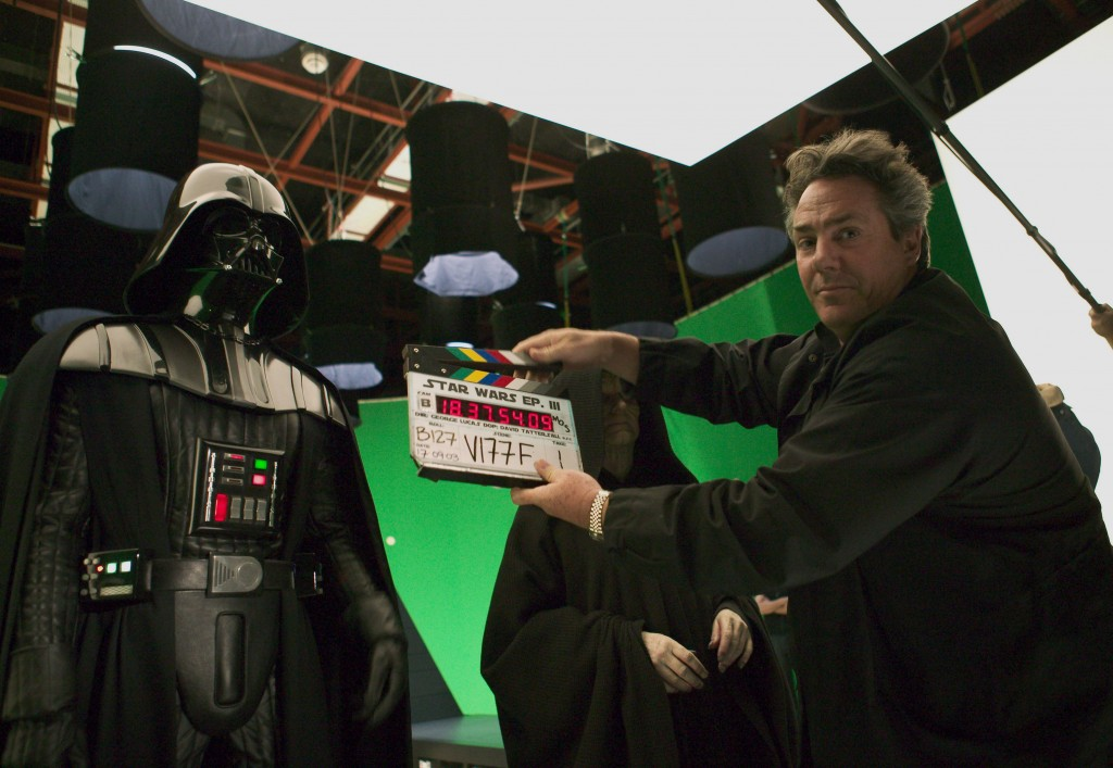 Star Wars: Episode III - Revenge of the SithYear : 2005 USADirector : George LucasHayden Christensen, Ian McDiarmid, Producer Rick McCallum Shooting picture.It is forbidden to reproduce the photograph out of context of the promotion of the film. It must be credited to the Film Company and/or the photographer assigned by or authorized by/allowed on the set by the Film Company. Restricted to Editorial Use. Photo12 does not grant publicity rights of the persons represented.