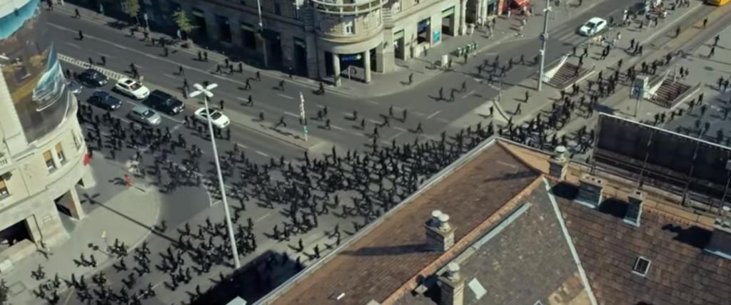 LG reklámfilm Budapesten