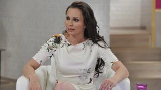 Budapest, 2013. május 6. Pikali Gerda színmûvész az M1 televíziós csatorna Ridikül címû nõi beszélgetõs mûsorában, az MTVA gyártóbázisának 7-es stúdiójában.  MTVA Fotó: Zih Zsolt