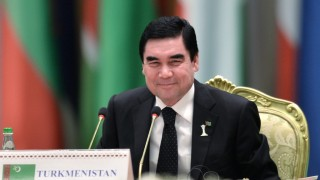 2756903 12/12/2015 President of Turkmenistan Gurbanguly Berdymukhamedov attends the international conference 'The Policy of Neutrality: International Cooperation for Peace, Security and Development' held in Ashgabat. Ramil Sitdikov/Sputnik