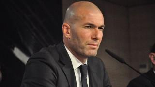 MADRID, SPAIN - JANUARY 5: Zinedine Zidane, new head coach of Real Madrid, informs the media during a press conference in Madrid, Spain on January 4, 2016. Berkan Unlu / Anadolu Agency