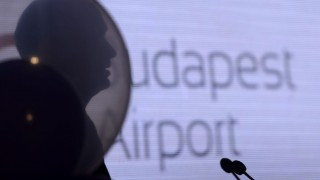Budapest, 2014. június 24. Jost Lammers, a Budapest Airport vezérigazgatója beszédet mond a Wizz Air diszkont légitársaság megalakulásának 10. évfordulóján tartott rendezvényen a Liszt Ferenc Budapest Nemzetközi Repülõtéren 2014. június 24-én. Az eseményen megállapodást írtak alá arról, hogy a repülõteret üzemeltetõ Budapest Airport a Wizz Airnek  karbantartó hangárt épít. MTI Fotó: Kovács Tamás