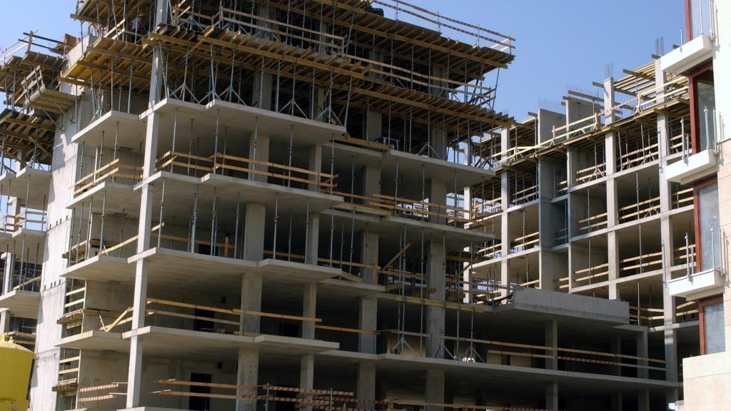Építőipar - A Marina Part építkezése