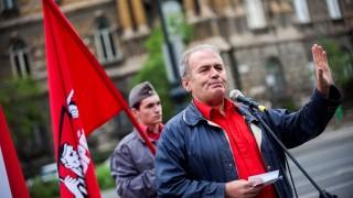 Május 1. - Munkáspárt - EU-ellenes rendezvény Budapesten
