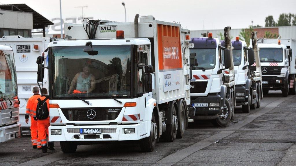 Környezetvédelem - Szemétszállítás a fővárosban