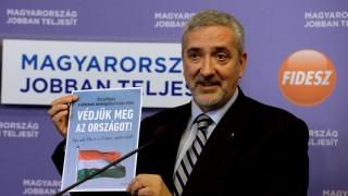 Halász János sajtótájékoztatója