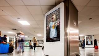 ferihegyi digitális reklámfelület