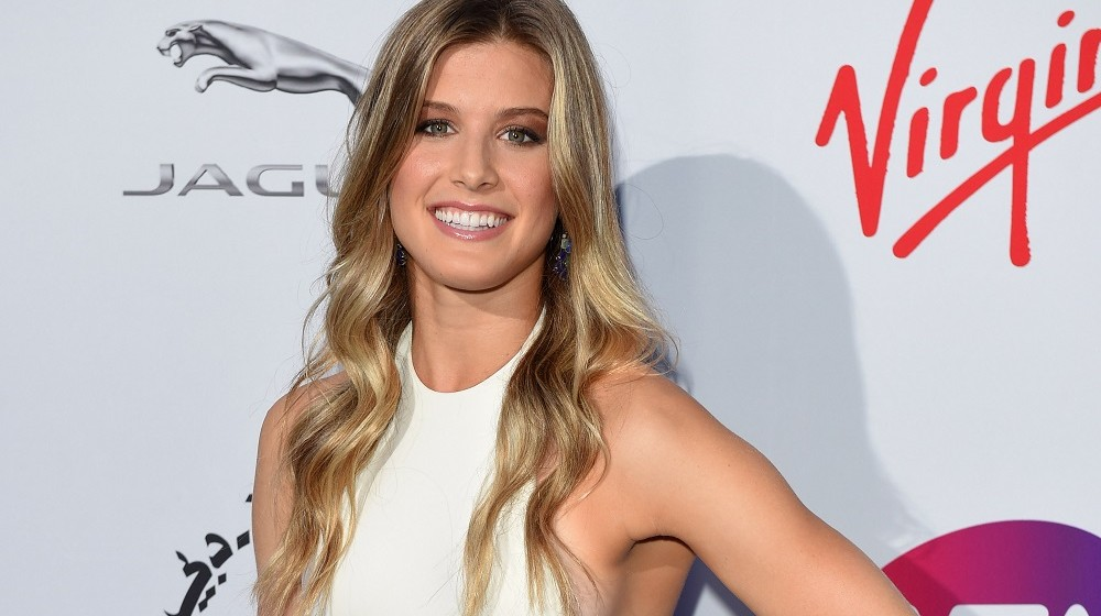 LONDON, ENGLAND - JUNE 25:  Eugenie Bouchard attends the WTA Pre-Wimbledon Party at Kensington Roof Gardens on June 25, 2015 in London, England.  (Photo by Karwai Tang/WireImage)