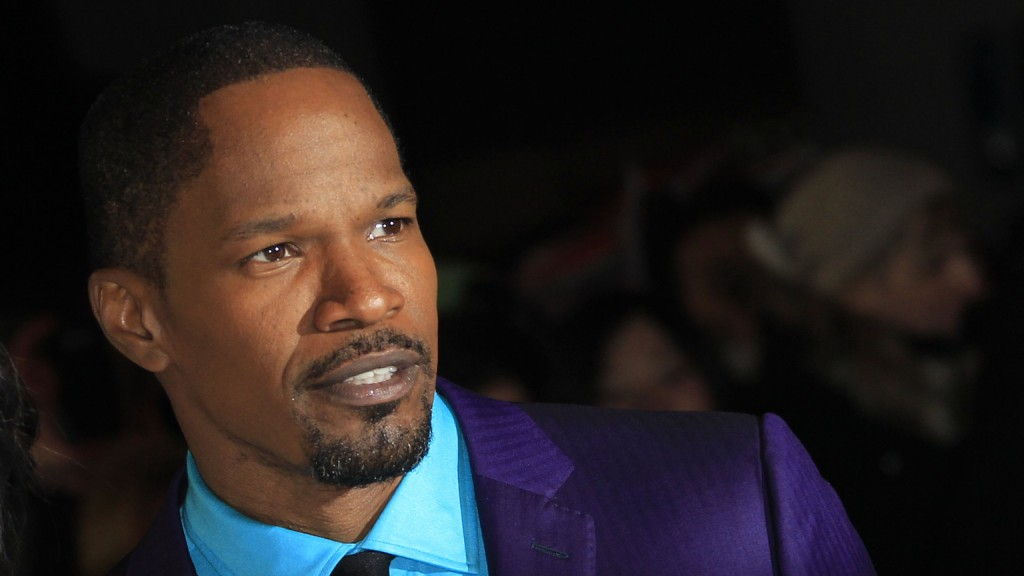 Jamie Foxx arrives for the UK Premiere of Django Unchained  at a central London cinema, Thursday, Jan. 10, 2013. (Photo by Joel Ryan/Invision/AP)