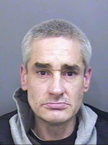 John Liddicoat has been jailed at the Plymouth Crown Court in Devon, for three and a half years. Mr Liddicoat has been banned from riding bikes and even going within four metres of a bike, as he can't stop stealling them. 12/01/2016 See SWNS story SWBIKE.