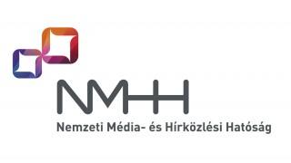 Az NMHH új, 2016-tól használt logója