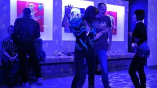 Budapest, 2012. április 13.Résztvevők a Holdudvar szórakozóhely szezonnyitó rendezvényén a Margitszigeten. MTI Fotó: Soós Lajos
