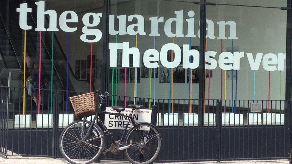 A The Guardian londoni épülete