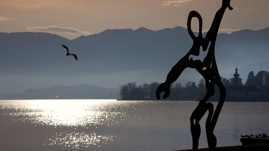 Austria, Upper Austria, Traunsee Lake, Gmunden