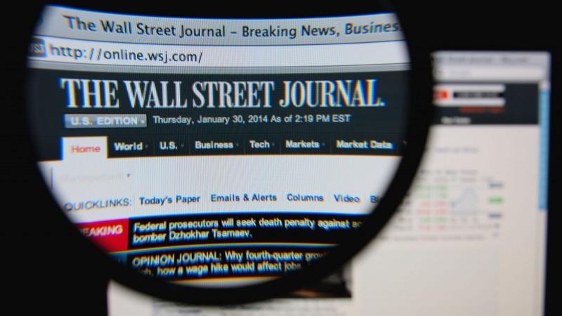 WSJ The Wall Street Journal online