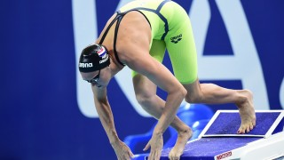 Netherlands' Inge Dekker competes in the preliminary heats of the women's 50m butterfly swimming event at the 2015 FINA World Championships in Kazan on August 7, 2015.  AFP PHOTO / ALEXANDER NEMENOV / AFP / ALEXANDER NEMENOV