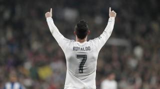 60131130. Madrid, 31 Ene 2016 (Notimex-Juan Carlos Rojas).- El equipo de Real Madrid superó este domingo 6-0 a la escuadra del Espanyol de Barcelona, celebrado en la cancha del Estadio Santiago Bernabéu. NOTIMEX/FOTO/JUAN CARLOS ROJAS/COR/SPO