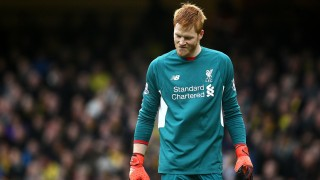 Dejected Adam Bogdan of Liverpool during the English championship Premier League football match between Watford and Liverpool on December 20, 2015 at Vicarage Road in Watford, England. Photo Michael Zemanek / Backpage Images / DPPI