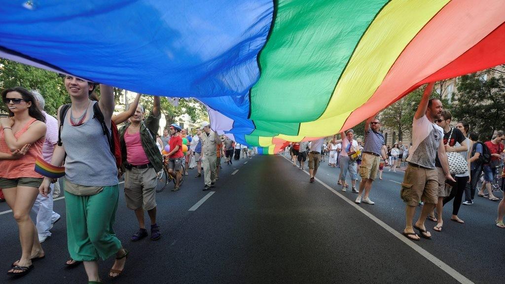 Budapest Pride - Felvonulás