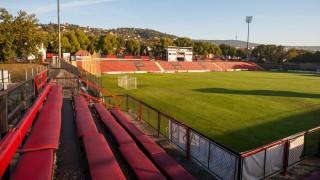 Pécs, 2013. október 7. A PMFC-Matias stadionja Pécsen 2013. október 7-én. A stadion bekerült a fejlesztendõ létesítmények elsõ körébe a kormány stadionrekonstrukciós programjában, így 700 millió és 1 milliárd forint közötti támogatásra számíthat, amelyet többek között a nézõtér és a játéktér korszerûsítésére, fedett lelátó, családi szektor kialakítására és az energiahatékonyság növelésére fordítanának. MTI Fotó: Sóki Tamás