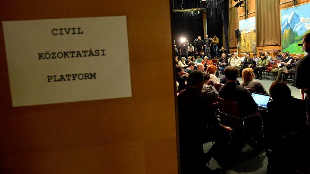 A Civil Közoktatási Platform alakuló ülése
