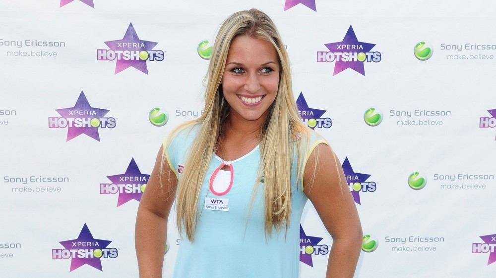 Dominika Cibulkova attends Sony Ericsson unveiling of Xperia Hot Shots at Doubletree Surfcomber Hotel - South Beach on March 20, 2011 in Miami Beach, Florida. (Photo by Vallery Jean/FilmMagic)