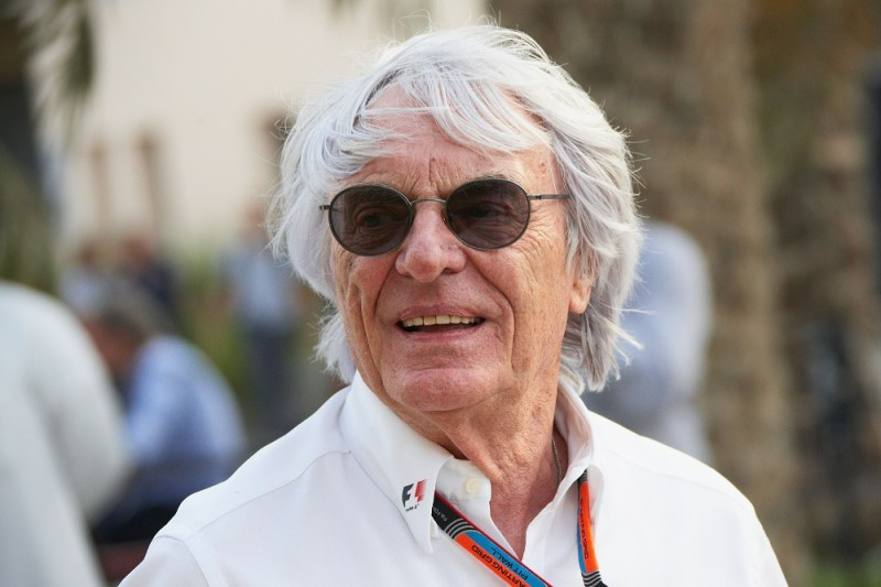 President and CEO of Formula One Management and Formula One Administration Bernie Ecclestone during the Formula One Bahrain Grand Prix on 19 April 2015 at the Bahrain International Circuit in Sakhir, Bahrain. (Photo by Rainer W. Schlegelmilch/Getty Images)