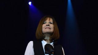 Debrecen, 2015. március 16.Koncz Zsuzsa, Kossuth- és Liszt Ferenc-díjas énekesnő a debreceni Kölcsey Központban adott koncertjén 2015. március 16-án.MTI Fotó: Czeglédi Zsolt