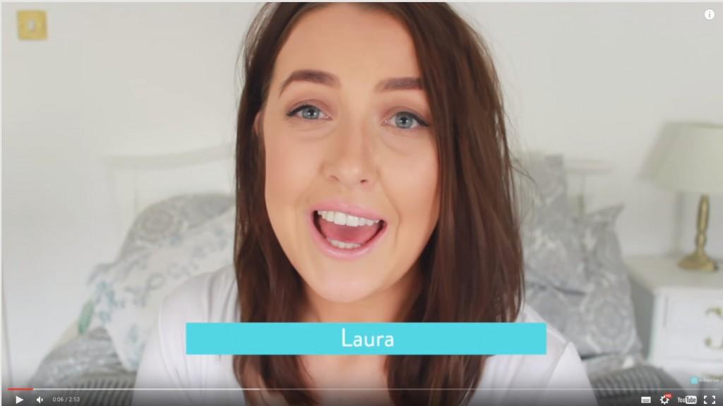 Laura, a channelmum.com egyik videóbloggere ad tanácsokat