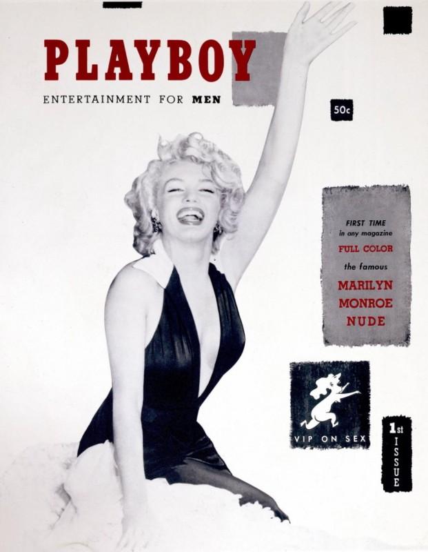 Ilyen volt 1953-ban a Playboy Marilyn Monroe-val: