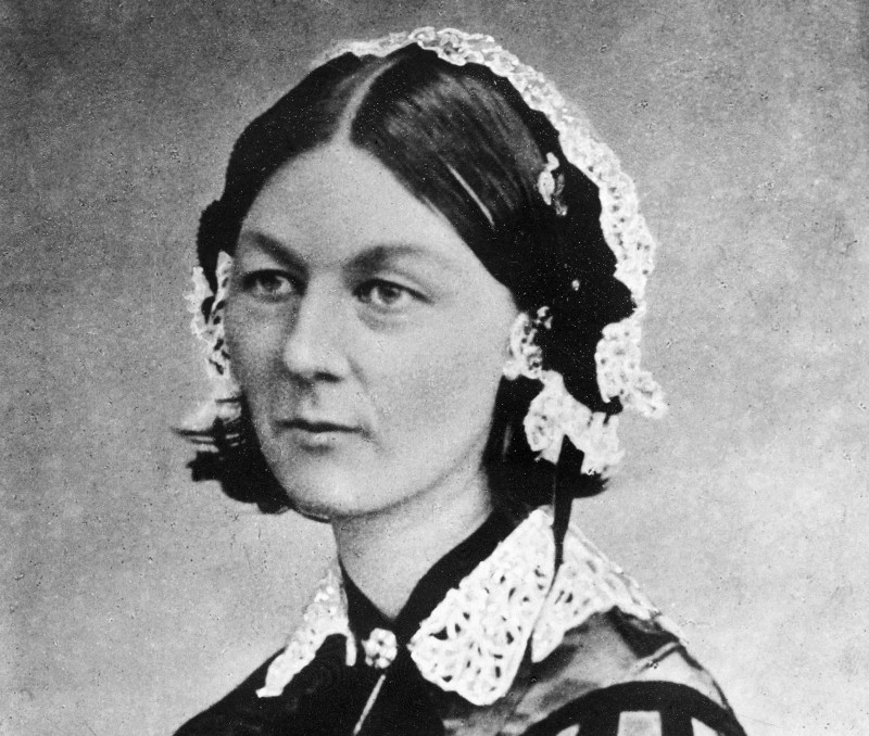 A photograph of a young Florence Nightingale, the founder of modern nursing, as well as a celebrated English social reformer and statistician. She was given the nickname 'The Lady with the Lamp' because of her habit of making nursing rounds at night during the Crimean War. Lived between May 1820ńAugust 1910. World History Archive